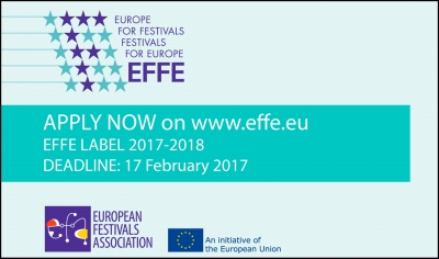 EFFE LABEL: European Label for Festivals 2017-2018