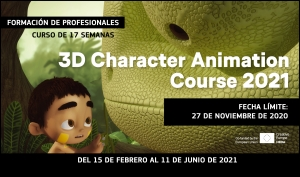 THE ANIMATION WORKSHOP: Apúntate al curso 3D Character Animation 2021