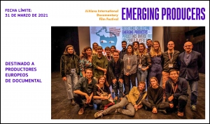 EMERGING PRODUCERS 2022: Abierta la convocatoria