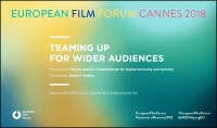 EUROPEAN FILM FORUM: Vídeo de la sesión celebrada en Cannes 2018