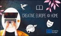 CREATIVE EUROPE AT HOME: Campaña de la Comisión Europea