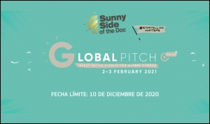 SUNNY SIDE OF THE DOC: Primera edición de Global Pitch en febrero de 2021