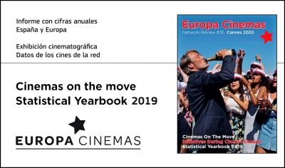 EUROPA CINEMAS: Informe Statistical Yearbook 2019