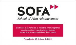 SOFA - SCHOOL OF FILM ADVANCEMENT: Destinado a gestores culturales y/o de la industria cinematográfica