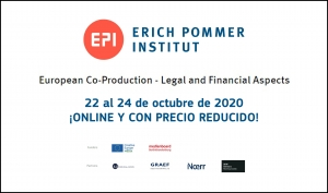 ERICH POMMER INSTITUT: El curso European Co-Production - Legal and financial aspects será online