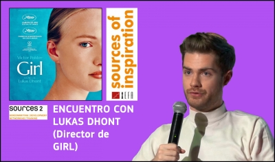 VÍDEO: Encuentro con Lukas Dhont (Sources of Inspiration)
