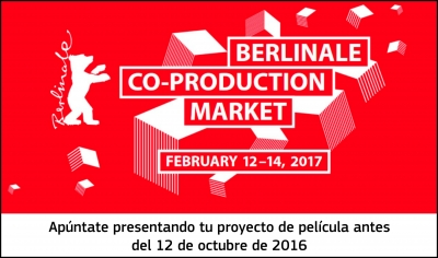 BERLINALE CO-PRODUCTION MARKET: Presenta tu proyecto de película