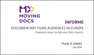 MOVING DOCS: Informe sobre el público de documentales en Europa