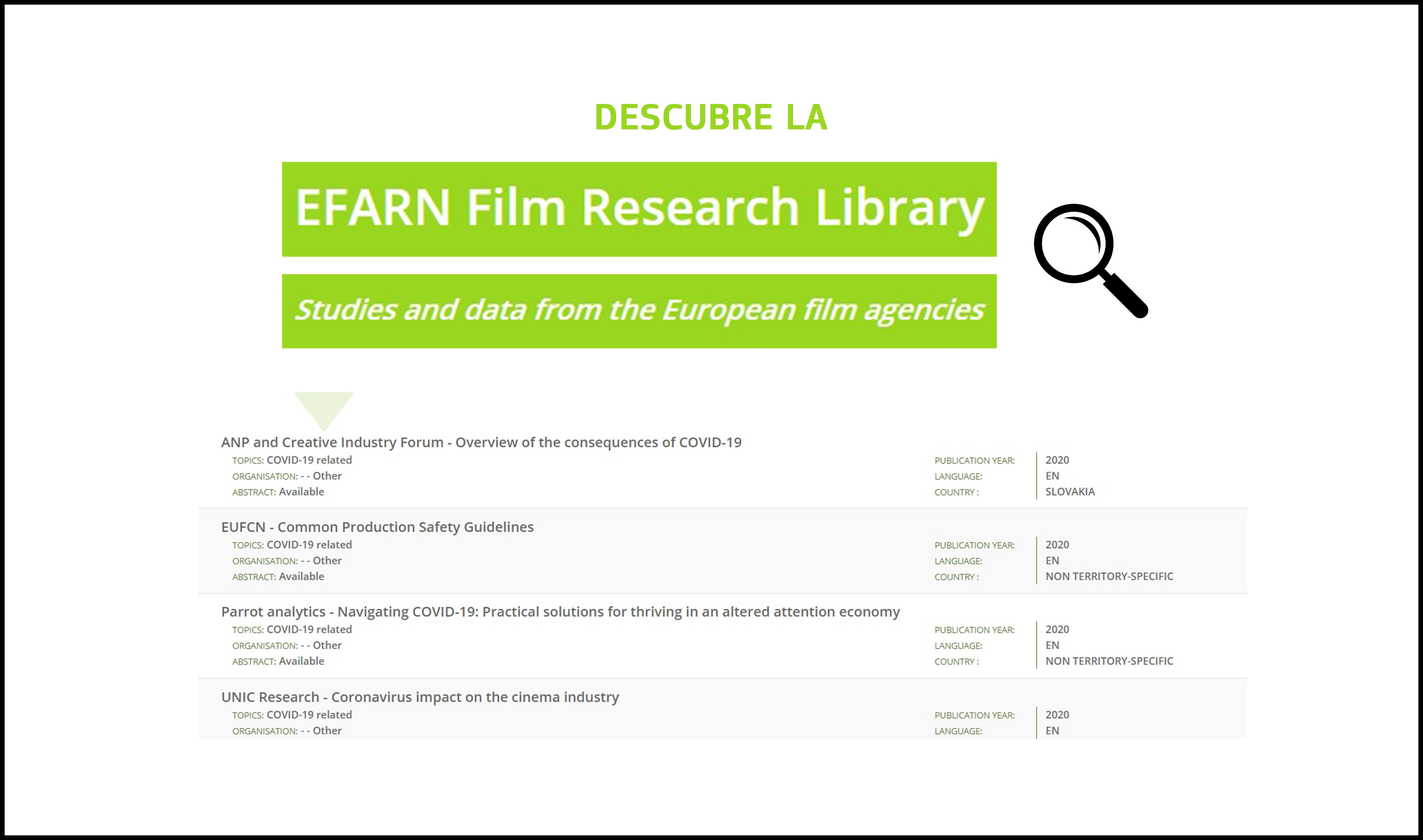EFARN FILM RESEARCH LIBRARY: Descubre este recurso online