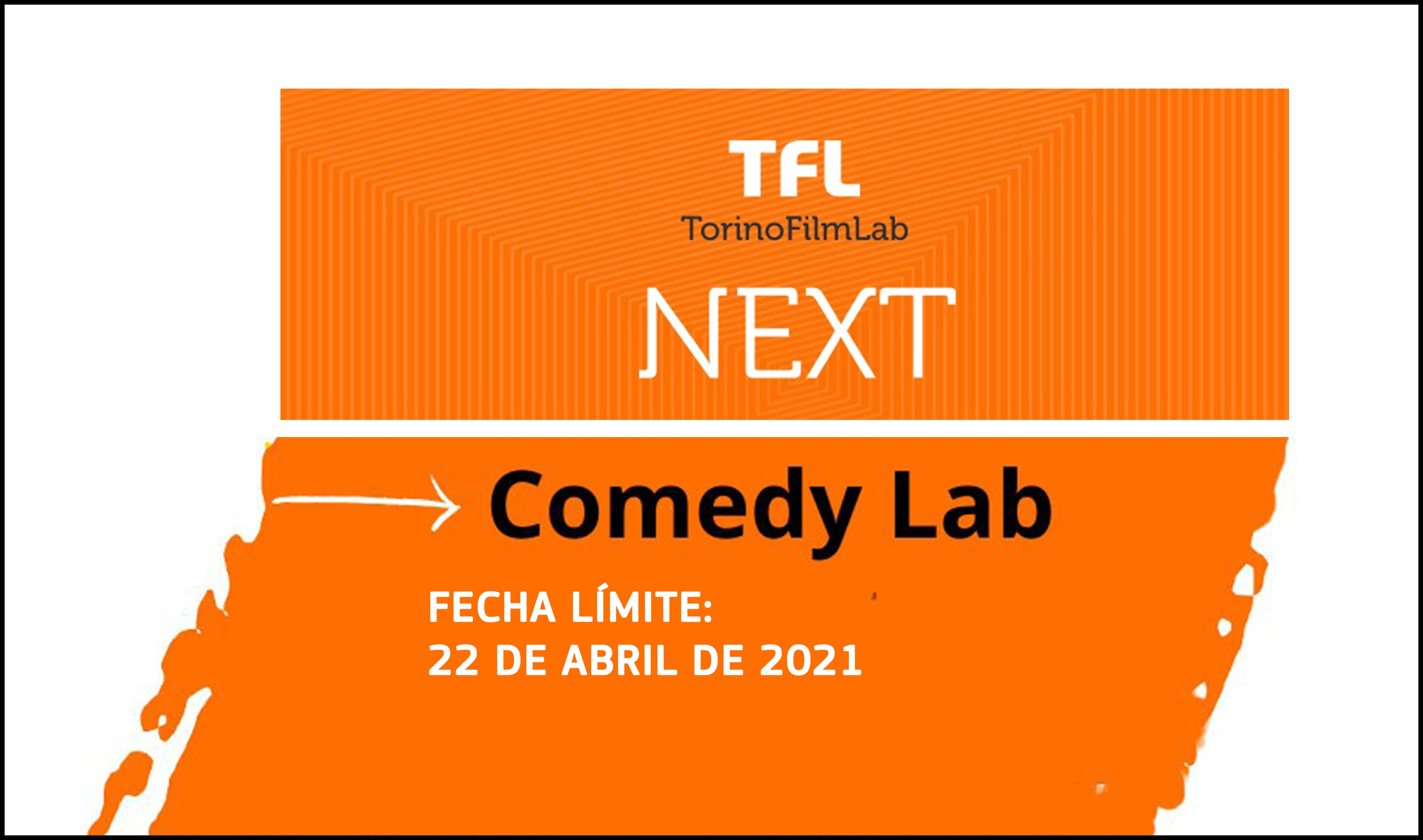 TORINOFILMLAB: Apúntate a TFL Next - Comedy Lab